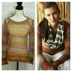 NWOT Anthropologie Charlie & Robin Mohair Sweater